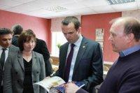 Посещение компании Главой Республики и города